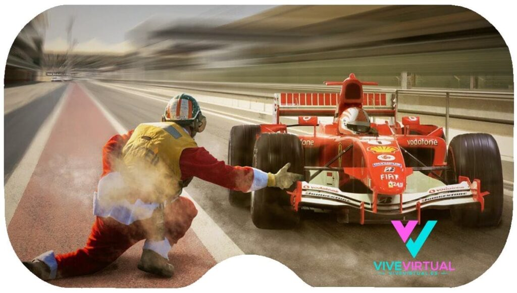 dream vr formula 1 en realidad virtual television tv vive virtual
