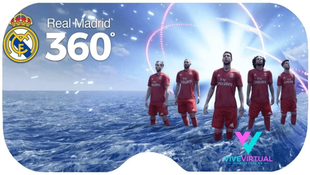 dream vr real madrid en realidad virtual con television 360 grados vive virtual 2